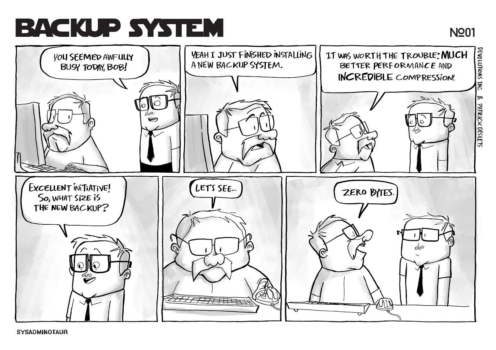 sysadminotaur-001-backup-system