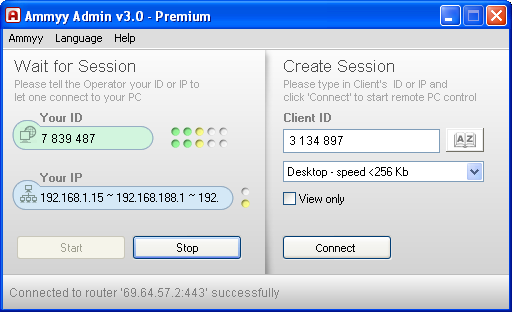 Ammyy Admin Add-On for Remote Desktop Manager
