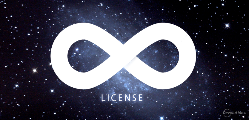 "Devolutions' Lifetime ""Locked In"" RDMS License Renewal Pricing"