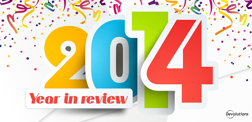 2014 Year in Review: Part 1