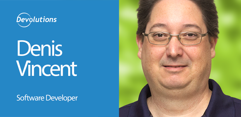 Meet our New Senior Software Developer: Denis Vincent!