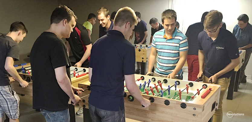 Devolutions-foosball-team-building