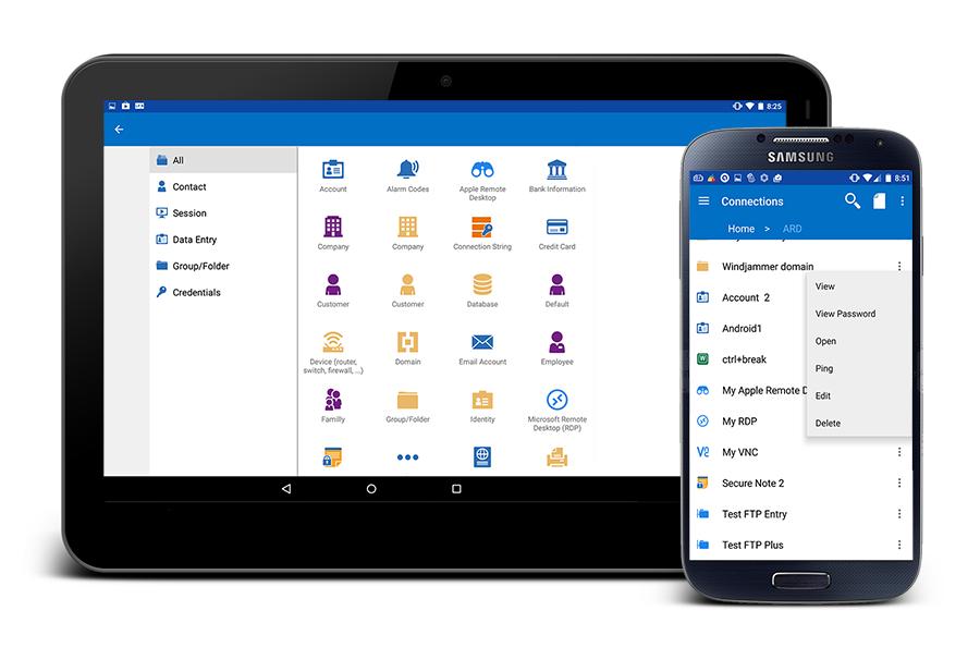 Devolutions Remote Desktop Manager for Android