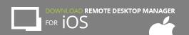 Remote Desktop Manager iOS