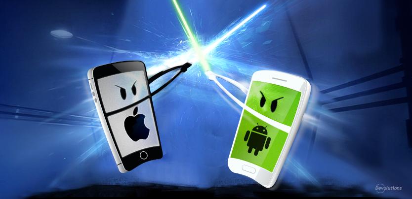 iOS versus Android
