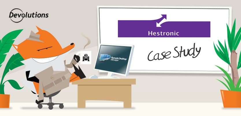 Remote Desktop Manager Case Study: Hestronic BV