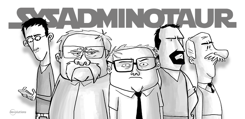 The Sysadminotaur Gang is BACK!