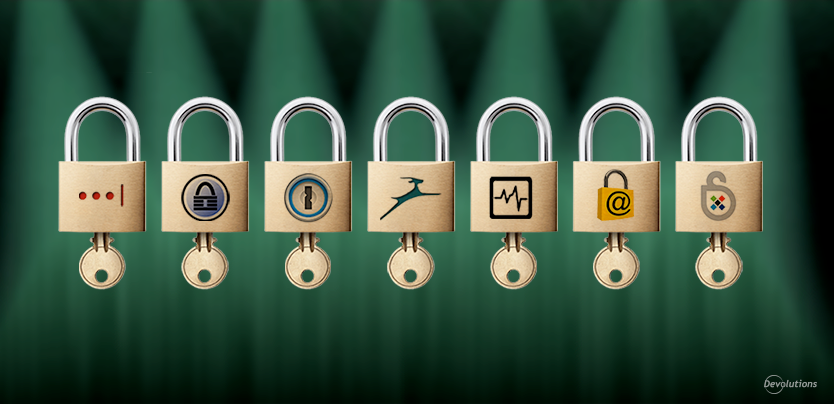 Password Vault Manager Comparaison Updated