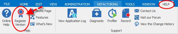 RegisterVersion