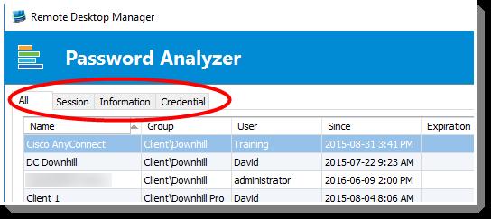 RemoteDesktopManager - PasswordAnazlyzer2