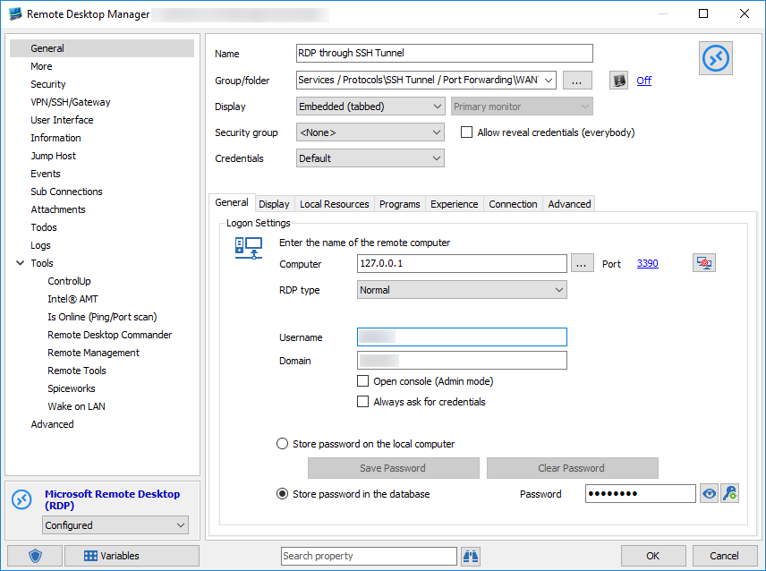 How to Configure SSH Tunnel in Remote Desktop Manager - The