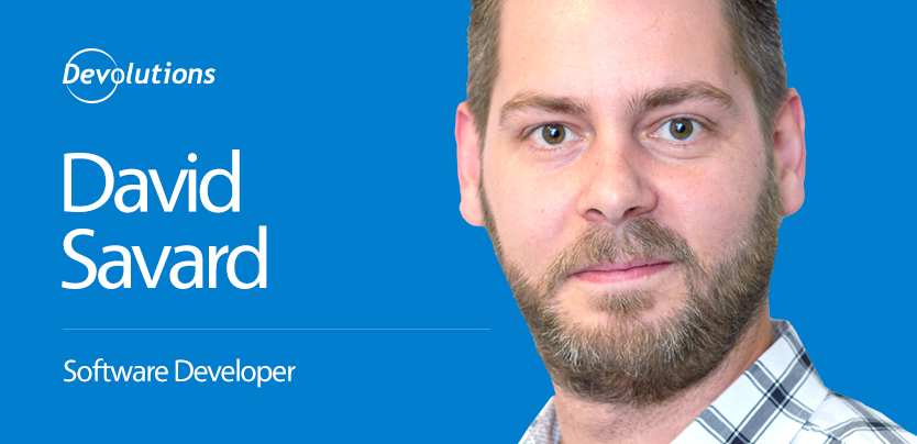 We're Growing: Meet David Savard, Our Newest Web Software Developer
