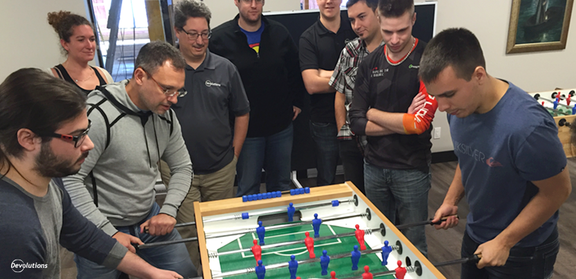 It's NOT Just a Foosball Table! – Part 2: The Devolutions Cup