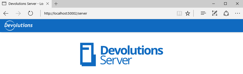 localhost-Devserver