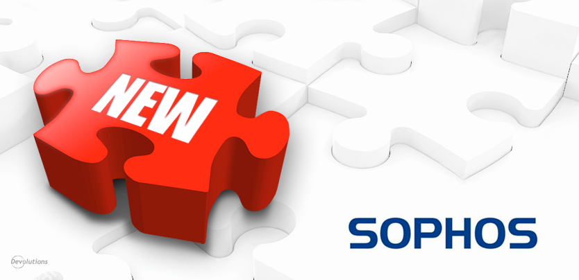 New Remote Desktop Manager Add-On: Sophos VPN