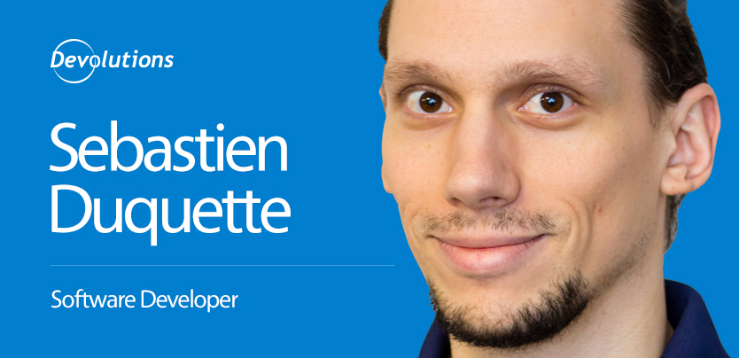 Meet Our New Wayk Now Developer, Sebastien Duquette