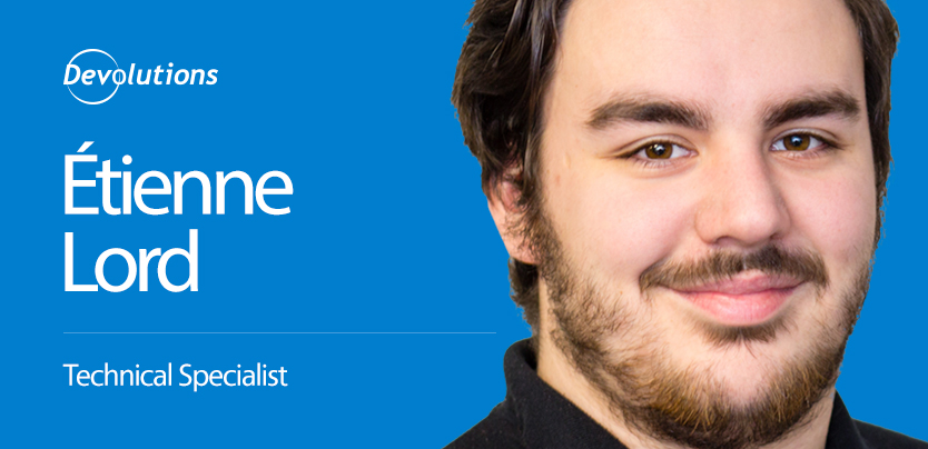 Meet Our New Support Specialist Etienne Lord