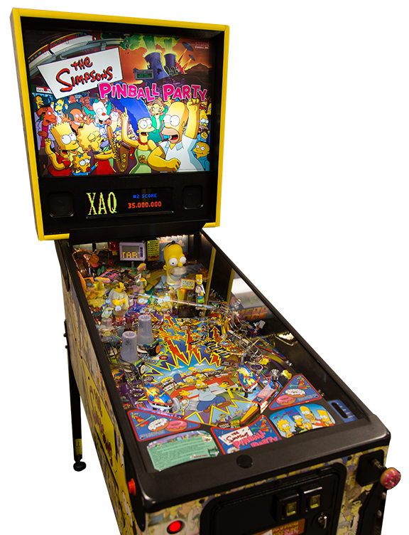 Devolutions Pinball Simpsons