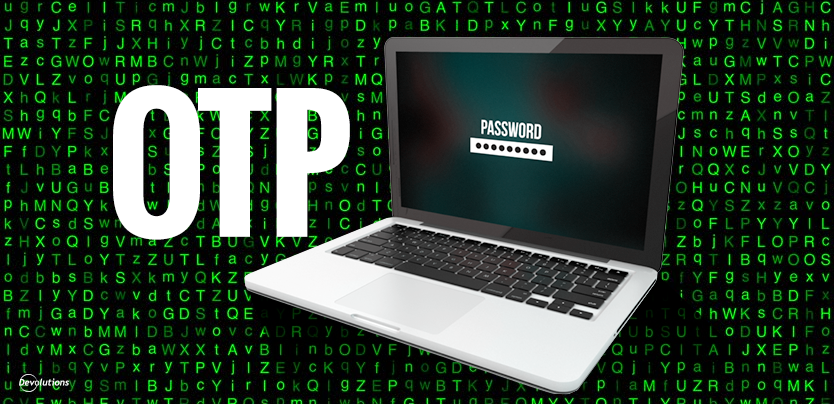 How to use One Time Password (OTP)