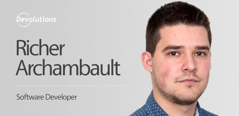 Meet Our New Software Developer Richer Archambault!