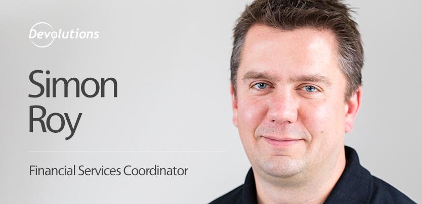 Meet Our New Finance Team Member, Simon Roy!