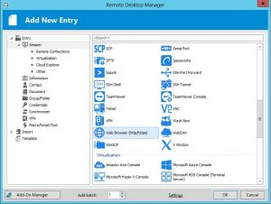 Running the vSphere Web Client via Remote Desktop Manager - The