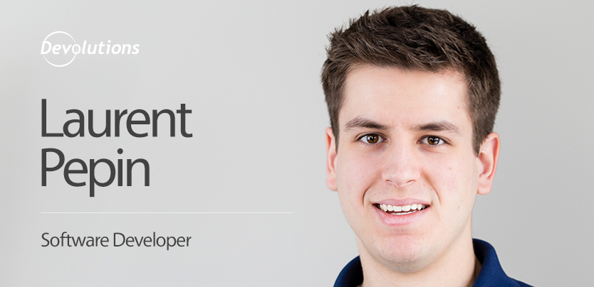 New Employee Spotlight: Laurent Pepin, Software Developer