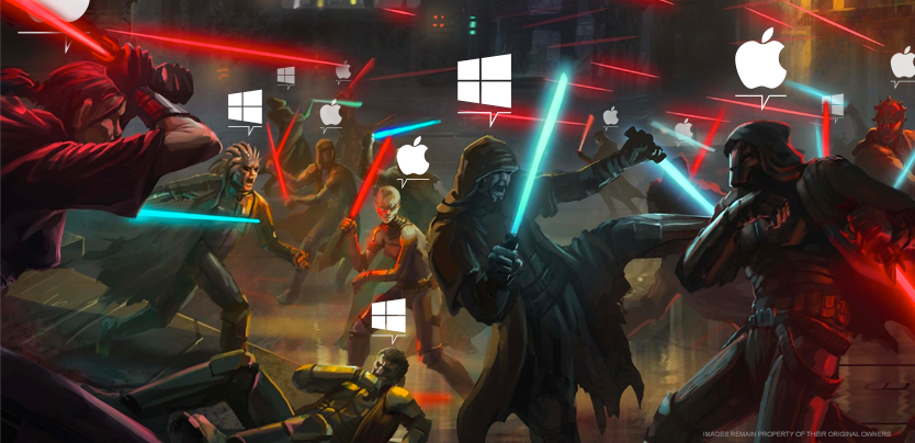 Poll November Windows Mac Jedi Sith Results