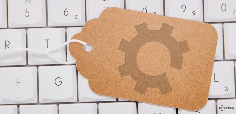 Remote Desktop Manager Tag Manager