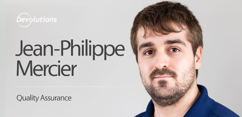 Jean Philippe Mercier interview new employee