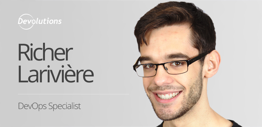 New Employee Spotlight: Richer Larivière, DevOps Specialist