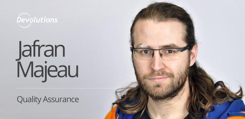 New Employee Spotlight: Jafran Majeau, Quality Assurance Specialist