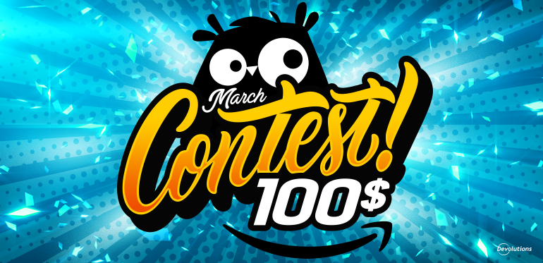 Poll March Contest Wayk Now Amazon 100