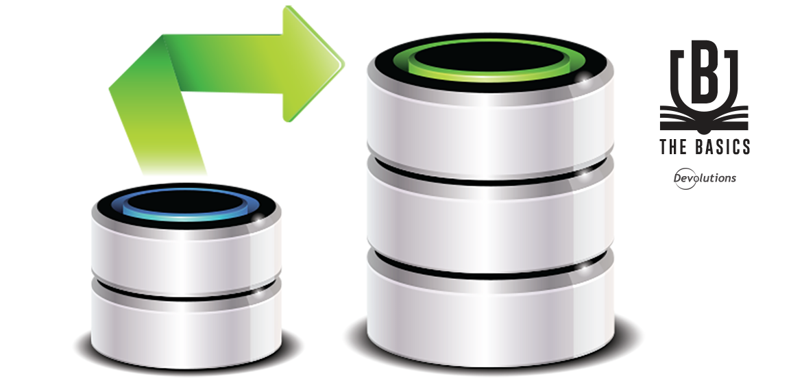 Remote Desktop Manager Basics: Database Upgrade Steps