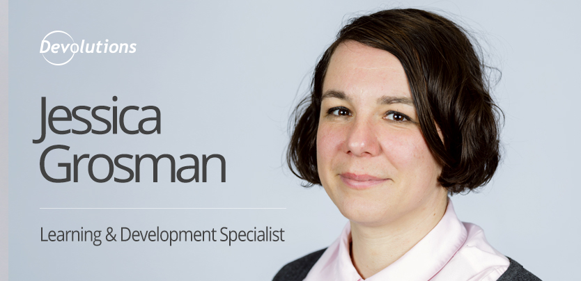 New Employee Spotlight: Jessica Grosman, Learning & Development Specialist