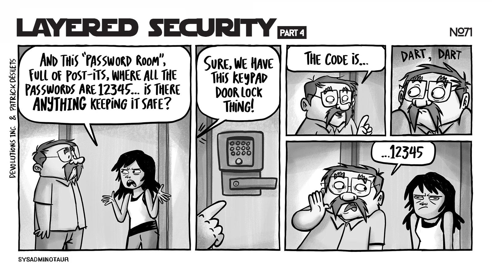 sysadminotaur 071 layered security pt4