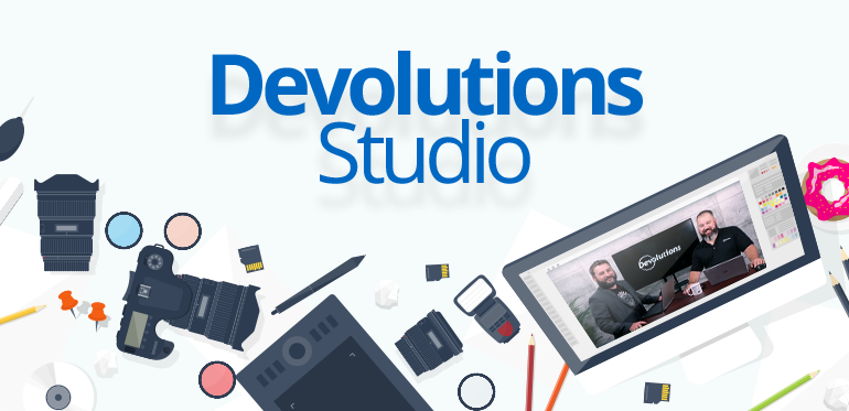 Introducing Devolutions' NEW Recording Studio!