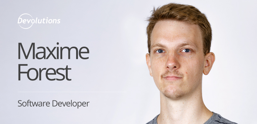 New Employee Spotlight: Maxime Forest, Software Developer