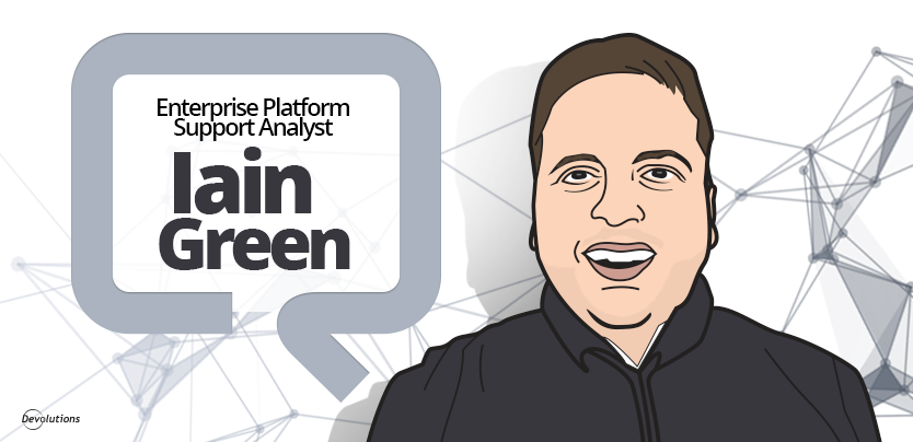 Case Study Iain Green Enterprise Platform Support Analyst