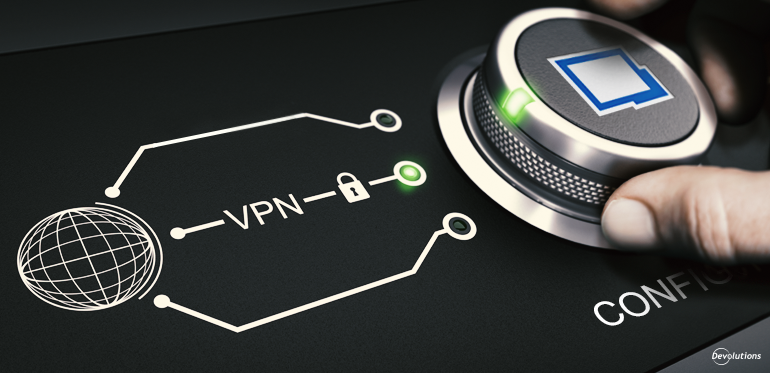 VPN Configuration with Remote Desktop Manager