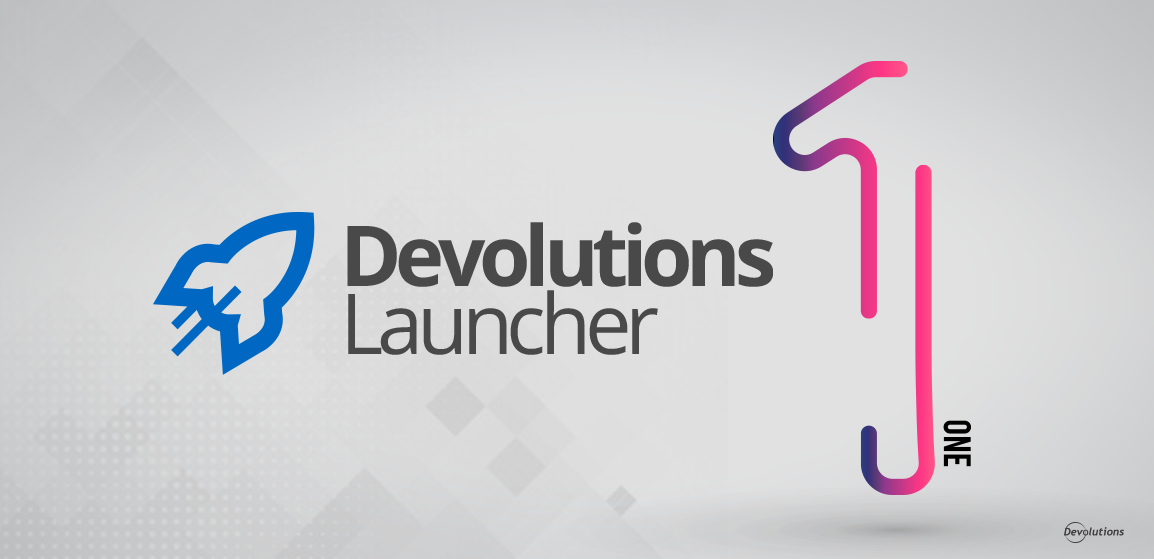 Devolutions Launcher 1 Released
