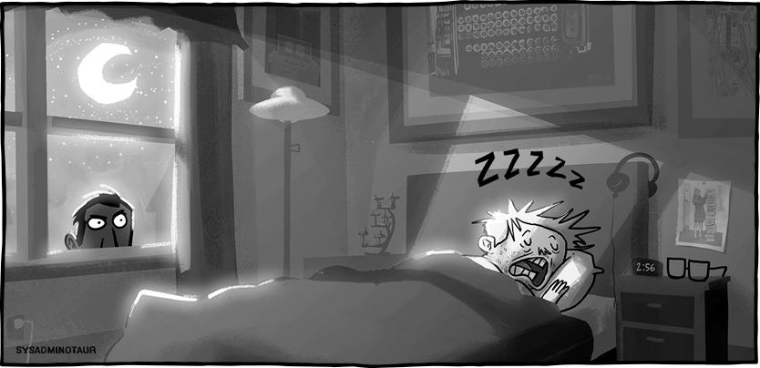 Sysadminotaur #77: Creepy Pasta