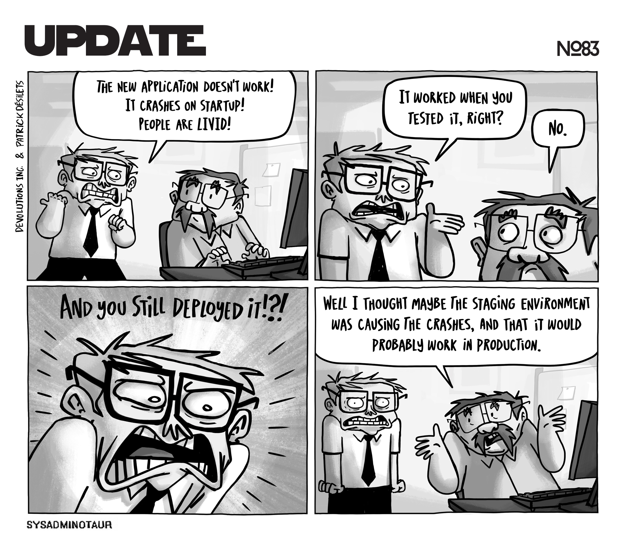 sysadminotaur-083-update