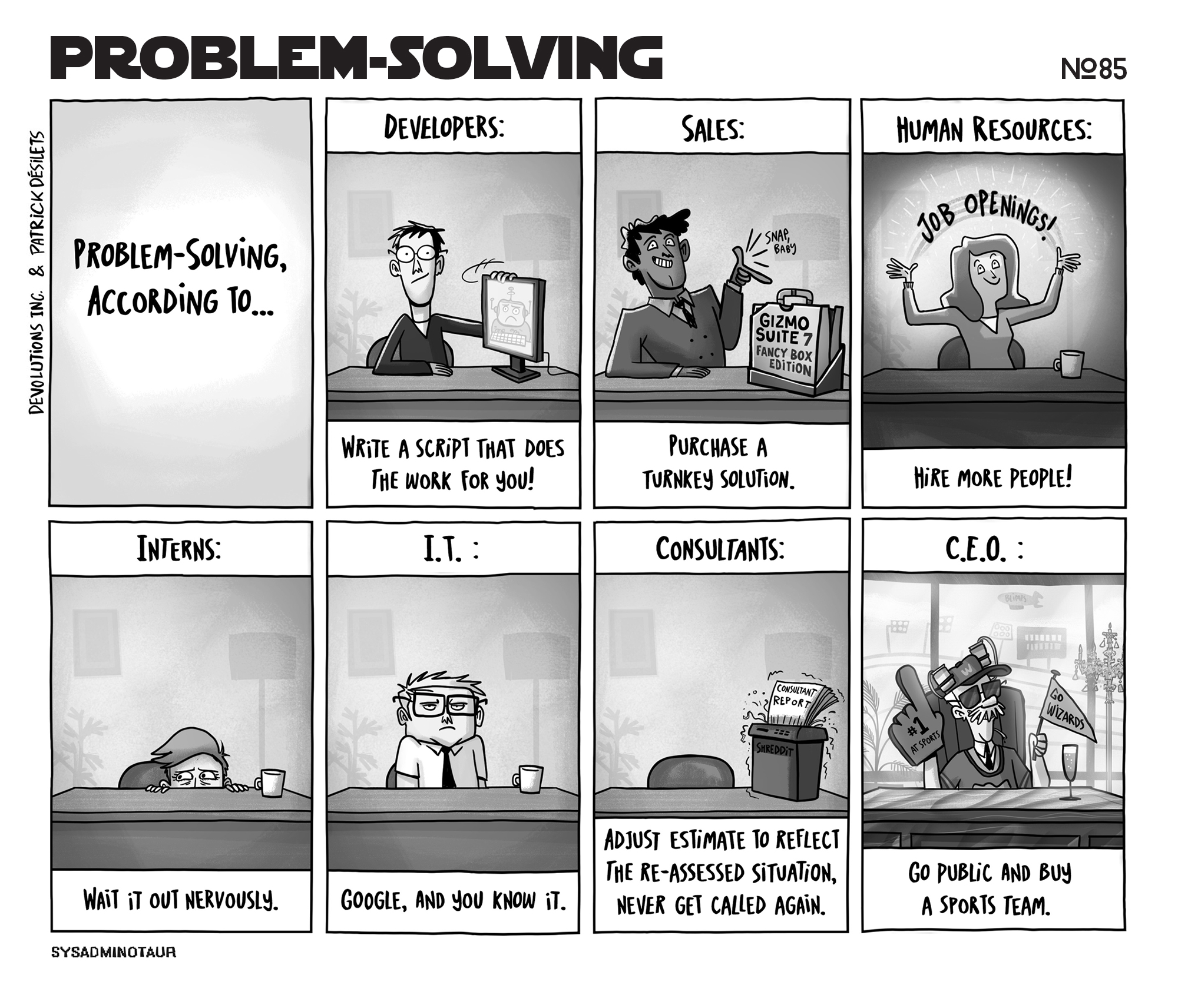 Sysadminotaur #85: Problem Solving - The Devolutions Blog