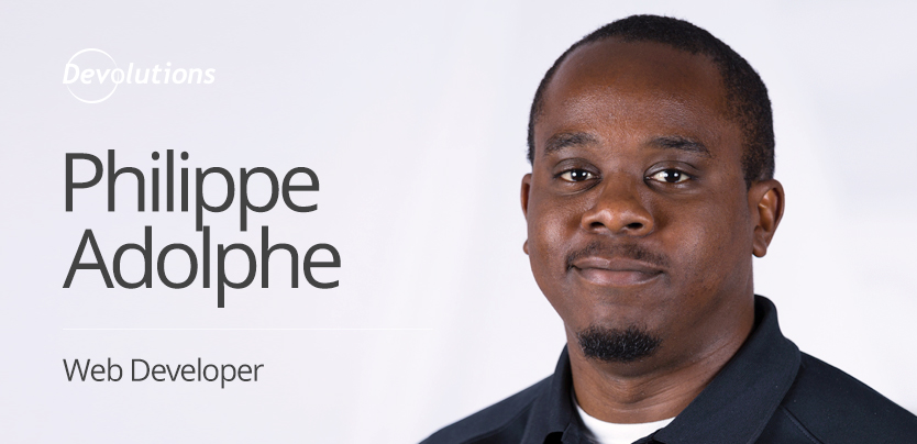 New Employee Spotlight: Philippe Adolphe, Web Developer