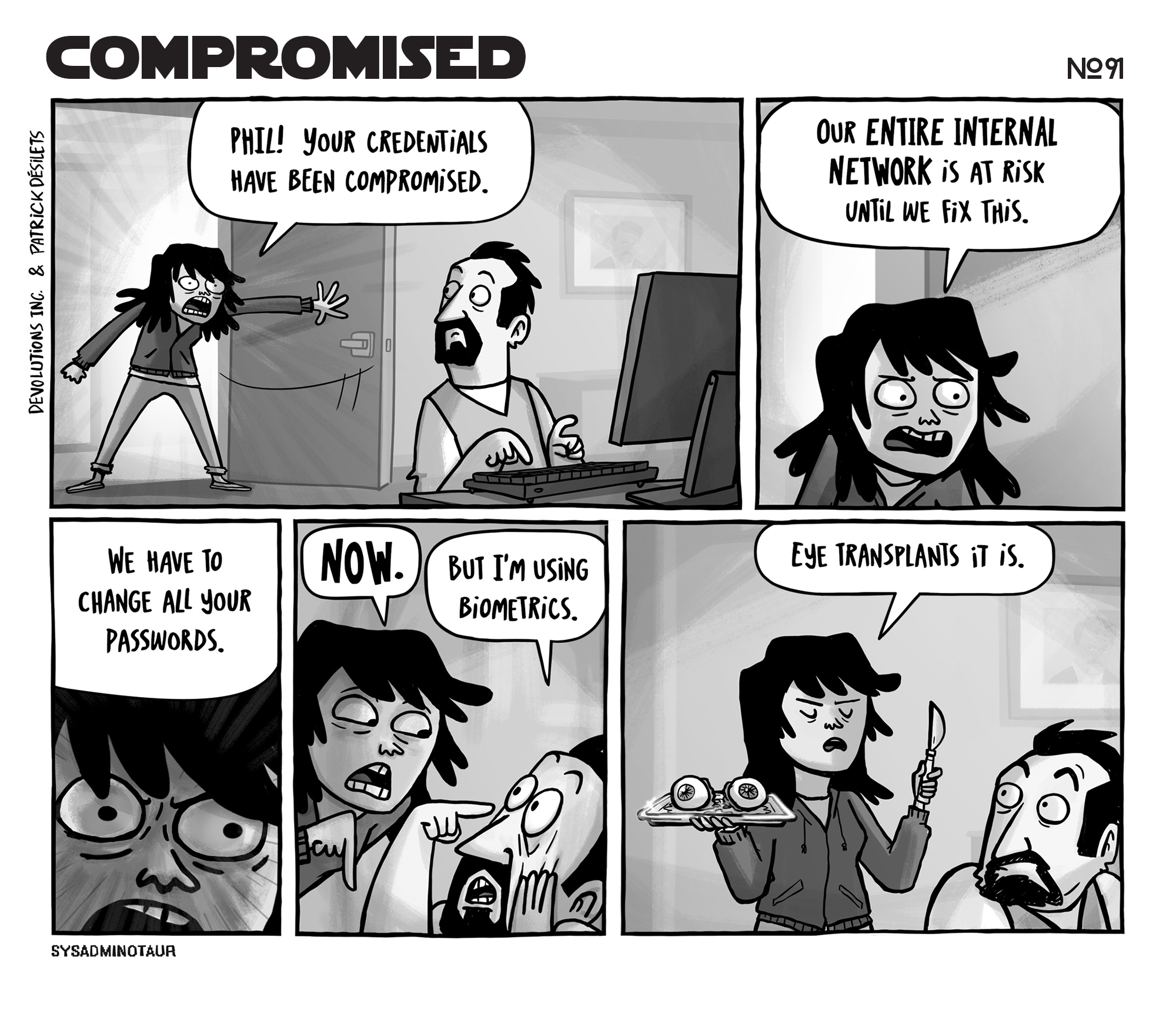sysadminotaur-091-compromised