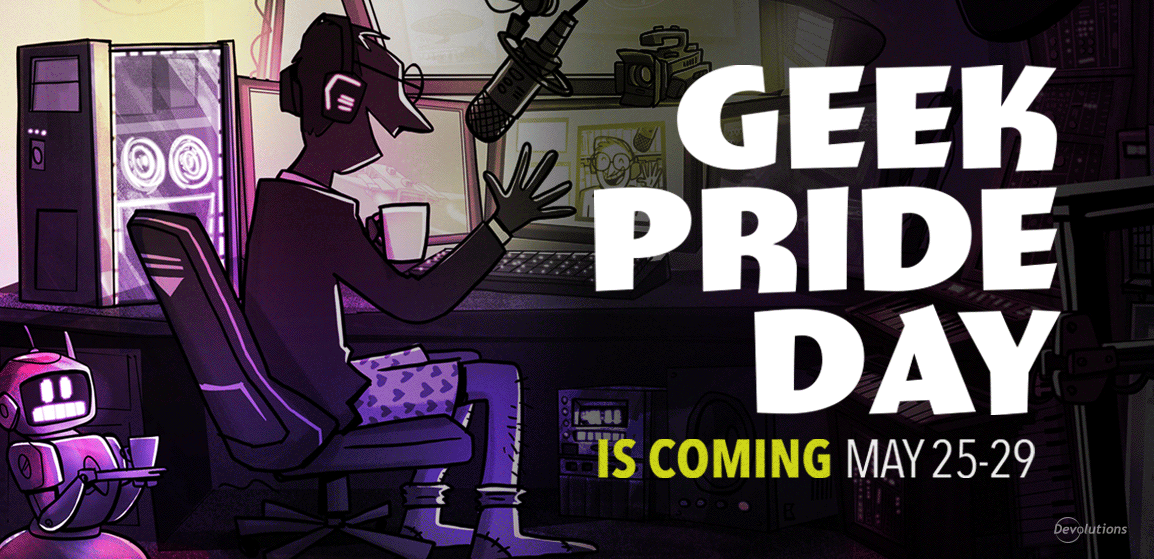 Geek Pride Day Special Announcement