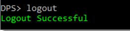 Devolutions-password-server-commande-line-logout