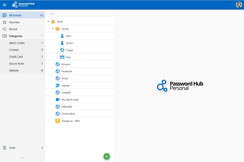 Password-Hub-Personal