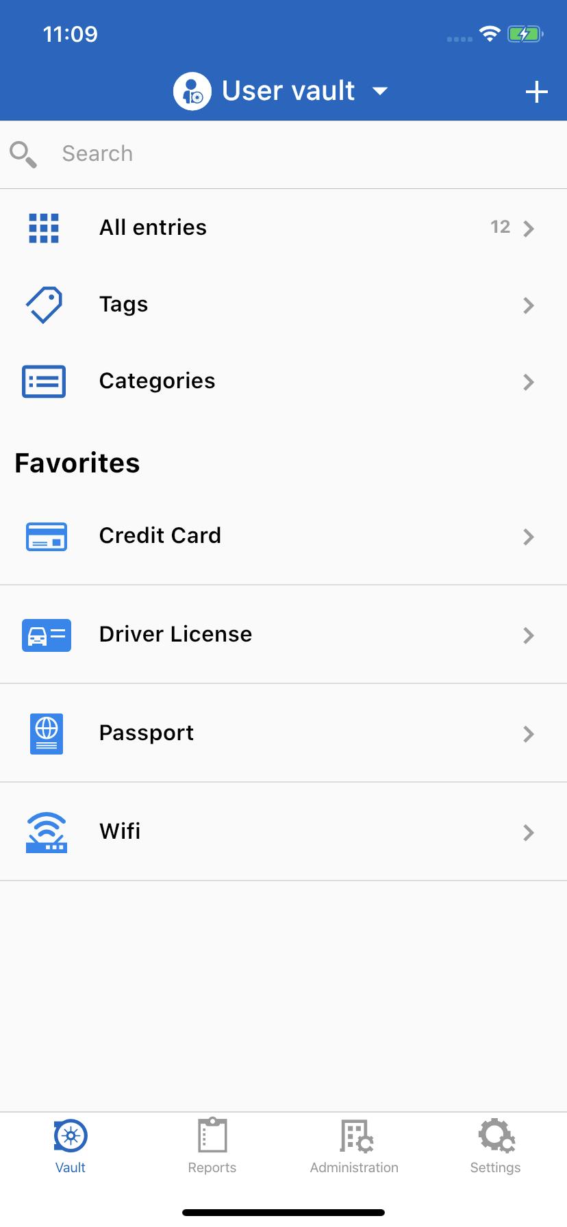 user-vault-Password-Hub-Business-IOS